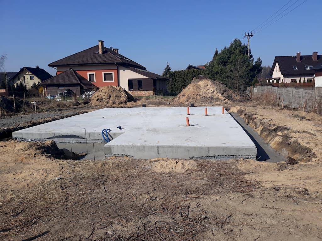 śląsk płyta fundamentowa budowa 3